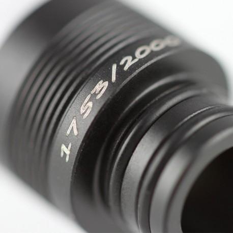 Drip Tip Noir mat / Delrin Blanc Limited