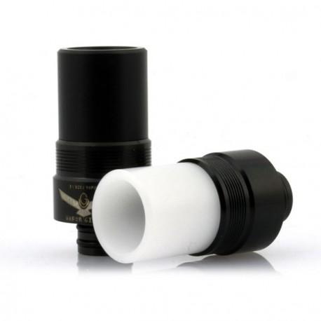 Drip Tip Noir/Delrin Blanc Vapor Giant