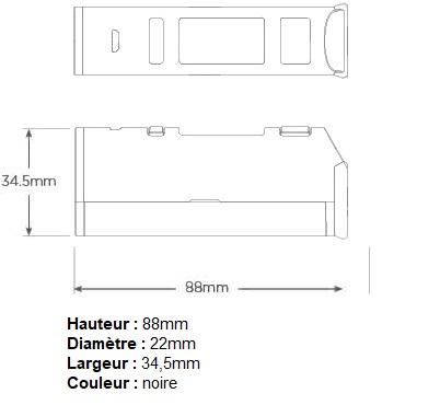 Mod Jac Vapour 22mm