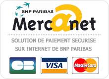 Mercanet terminal de paiement sécurisé