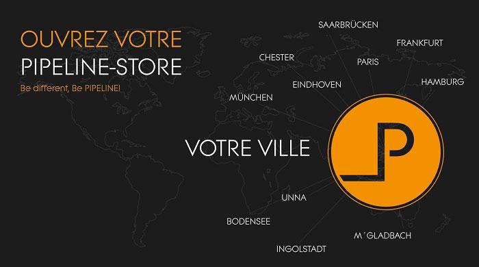 Ouvrez votre magasin PIPELINE Store