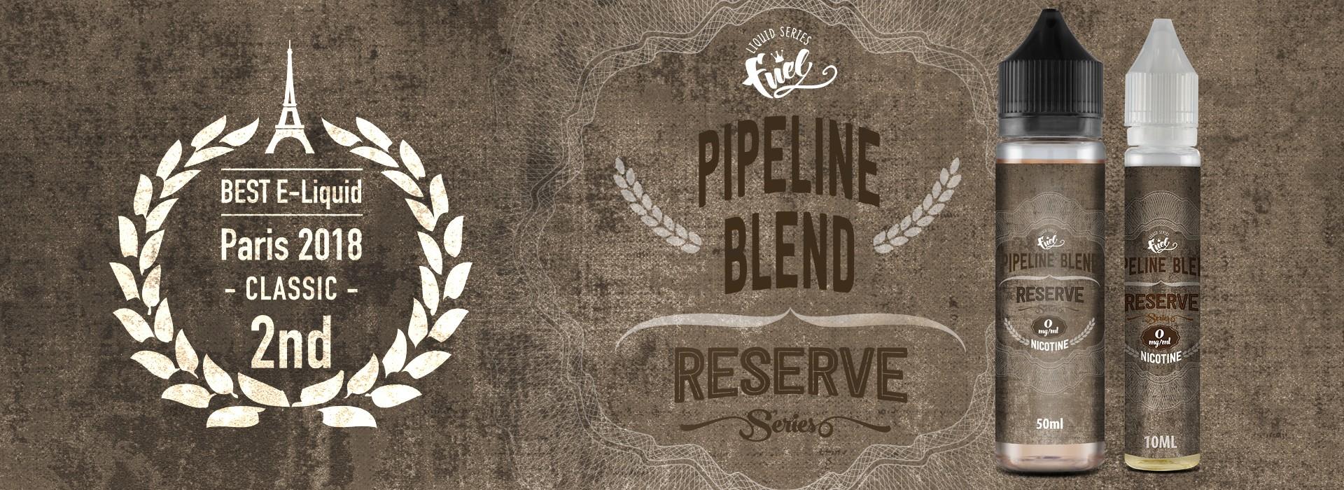 Notre meilleure vente incontestée depuis 2012 revisitée : l'e-liquide PIPELINE Blend Reserve