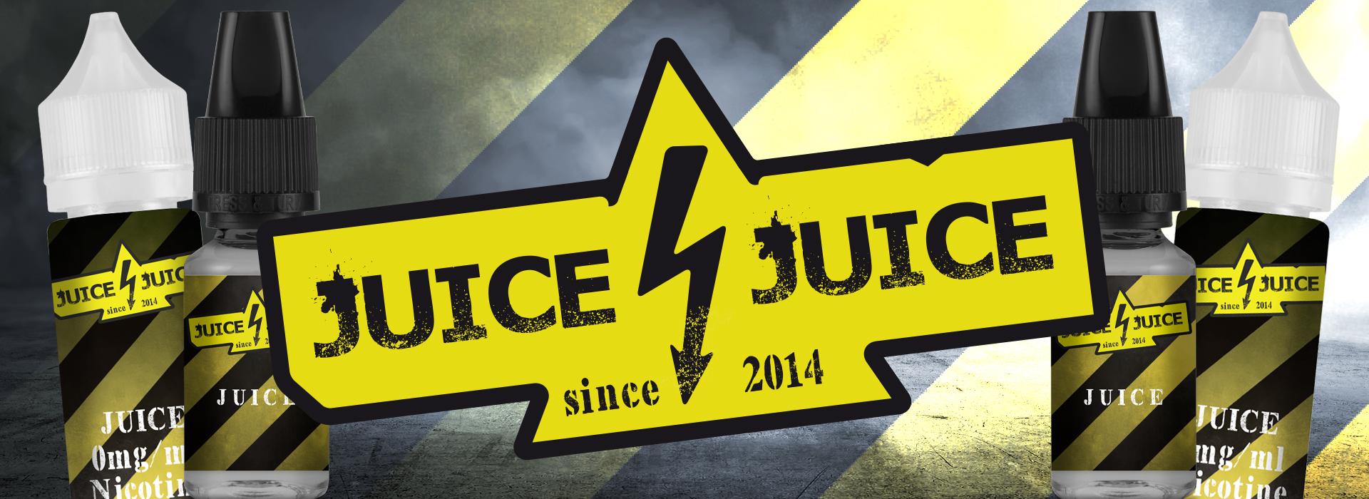 La gamme d'e-liquides Juice Juice est composée de saveurs gourmandes et fruitées soigneusement assemblées permettant d'obtenir un e-liquide fin et gourmand.